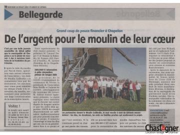 CHASTAGNER, membre fondateur du Club des Mécènes du Loiret