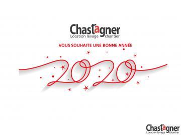 CHASTAGNER lOCATION VOUS SOUHAITE UNE BONNE ANNÉE 2020 !