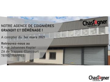 CHASTAGNER PARIS OUEST : nouveaux locaux, nouveaux projets