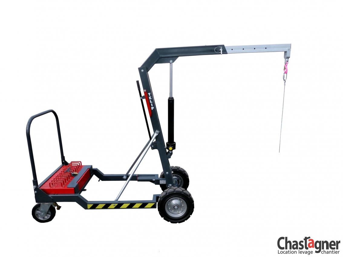 chastagner location potence mobile 450 kg manutention. Black Bedroom Furniture Sets. Home Design Ideas