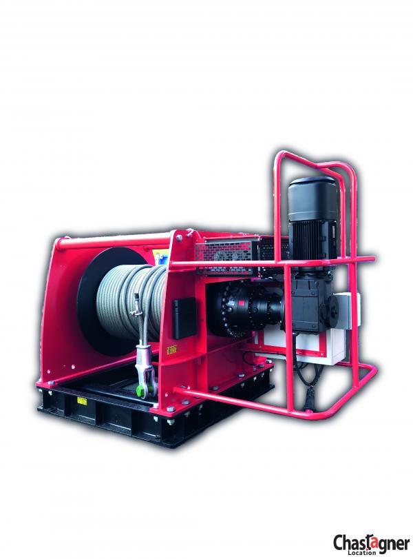 Treuil électrique de grande capacité 25 000 kg