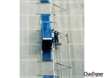 Ascenseur de chantier 1000 kg/12 personnes