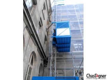 Ascenseur de chantier 1400 kg/17 personnes