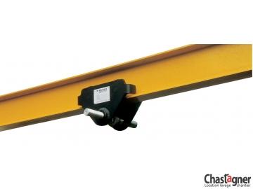 Chariot manuel de direction 3000 kg