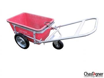 Chariot pour bac 430 kg