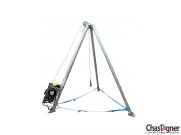 Trépied avec treuil électrique 500 kg