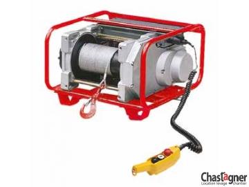 Treuil au sol électrique compact 350 kg avec variateur de vitesse