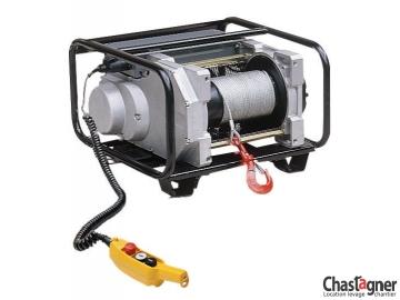 Treuil au sol électrique compact 800 kg avec variateur de vitesse