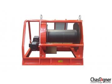 Treuil au sol électrique de grande capacité 10000 kg avec variateur de vistesse