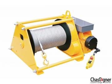Treuil au sol électrique de grande capacité 1300 kg