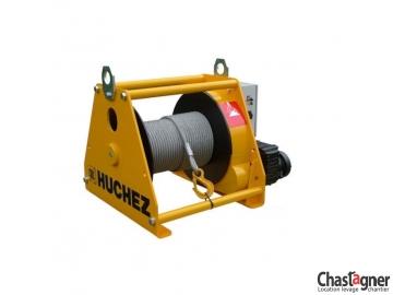 Treuil au sol électrique de grande capacité 7500 kg avec variateur de vitesse