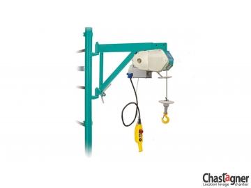 Treuil potence 150 kg télescopique