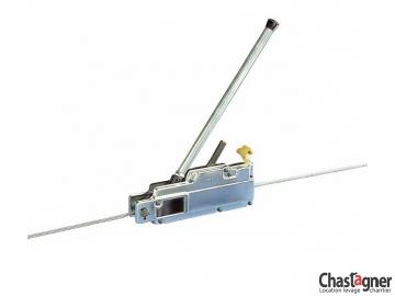 Treuil manuel à câble passant 3200 kg