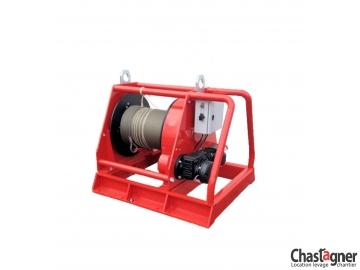 Treuil au sol électrique de grande capacité 3300 kg avec variateur de vitesse