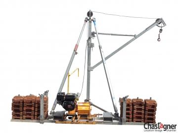 Grue thermique 250 kg