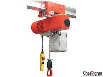 Palan électrique à chaîne 3200 kg chariot électrique