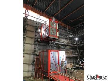 Ascenseur de chantier 1000 kg/8 personnes