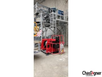 Treuil électrique grande capacité 25 000 kg avec variateur